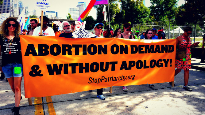 Abortion Rights Protest